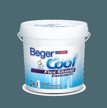 Sơn Che Phủ Vết Nứt Và Giảm Nhiệt Beger Cool Flex Shield Elastromeric