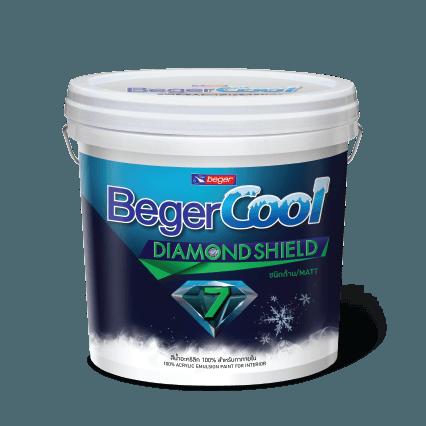 Sơn Nội Thất Beger Cool Diamond Shield 7