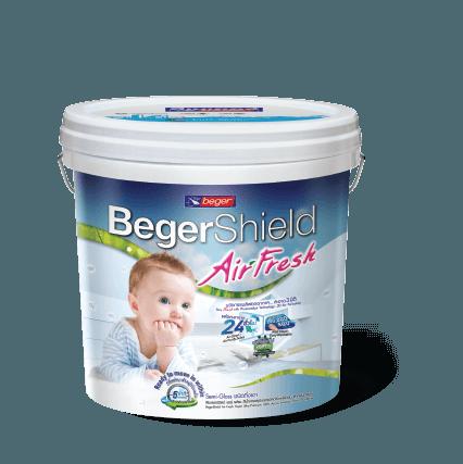 Sơn Nội Thất Lọc Không Khí Và Diệt Khuẩn Beger Shield Airfresh