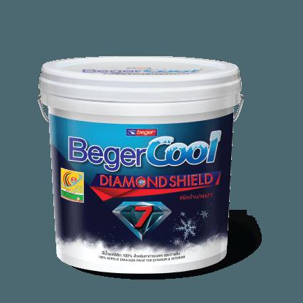 Sơn Ngoại Thất Giảm Nhiệt Beger Cool Diamond Shield 7